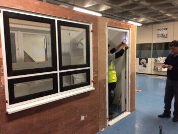 Door installation training